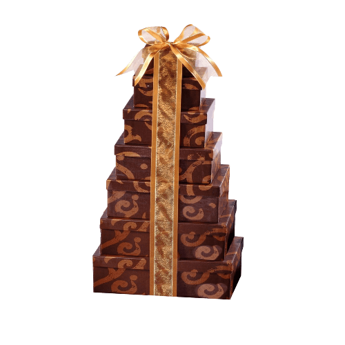 Broadway Basketeers Happy Birthday Gift Tower