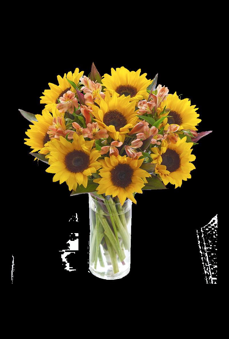 Sunflower Hand tied