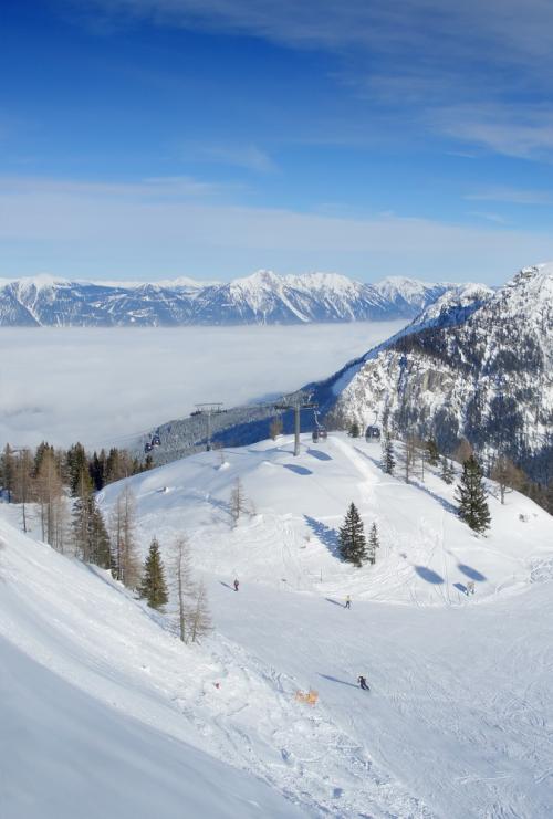 Nassfeld-ski-resort-on-the-border-between-Italy-and-Austria