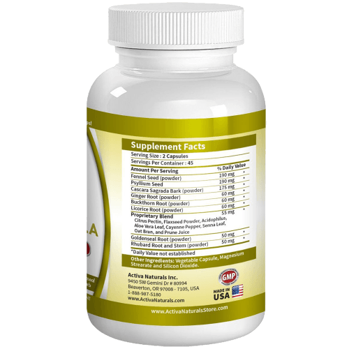 Best Colon Detox Formula - Advanced Colon Detox Supplement