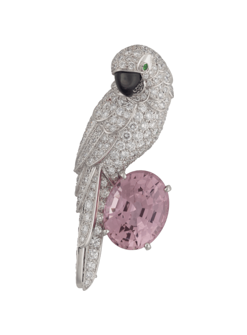 Cartier Fauna and Flora brooch