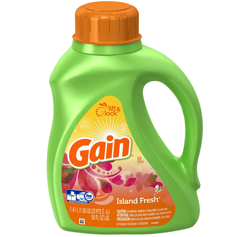 Gain Liquid Detergent with Fresh Lock