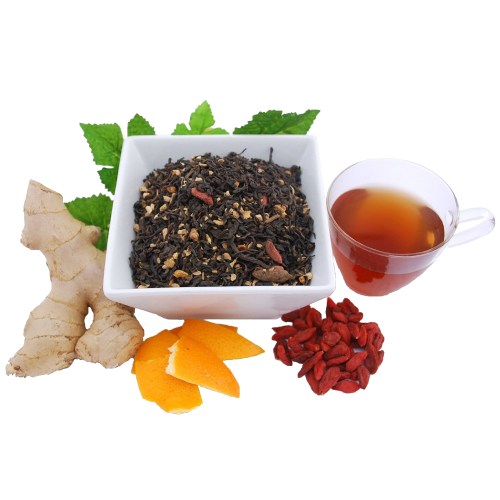 Ginger-Pu-erh-Organic-Loose-Leaf-Tea