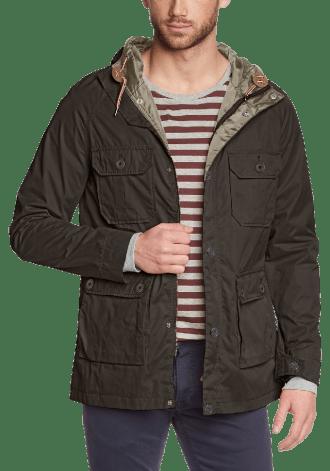 Men's Long Sleeve Coat