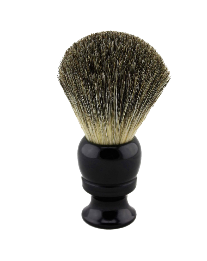Resin Handle Mix Badger Hair Shave Brush