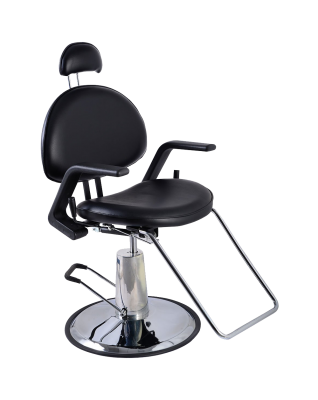 Reclining Hydraulic Salon Barber Chair