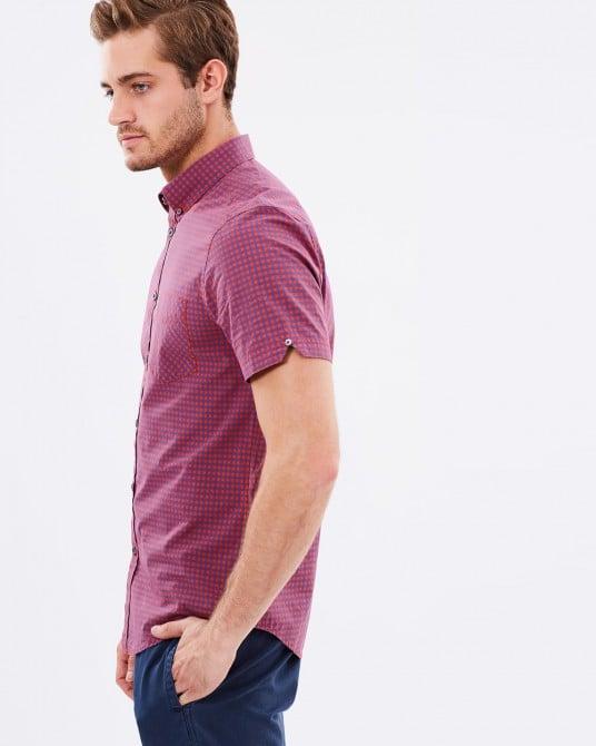 Ben Sherman SS Gingham Shirt
