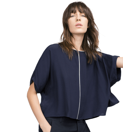 Top With Kimono Sleeves