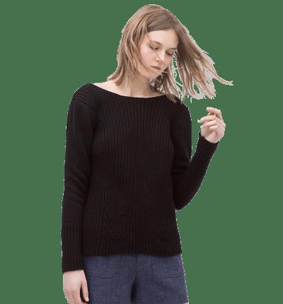 V-Back Sweater