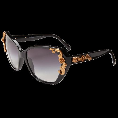 Dolce & Gabbana Womens Cat Eye Sunglasses
