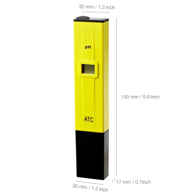 High Accuracy pH Meter pH Pen Tester with ATC