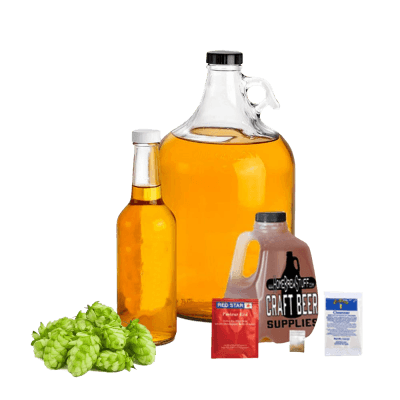 1 Gallon Hopped Honey Mead Recipe Refill Kit