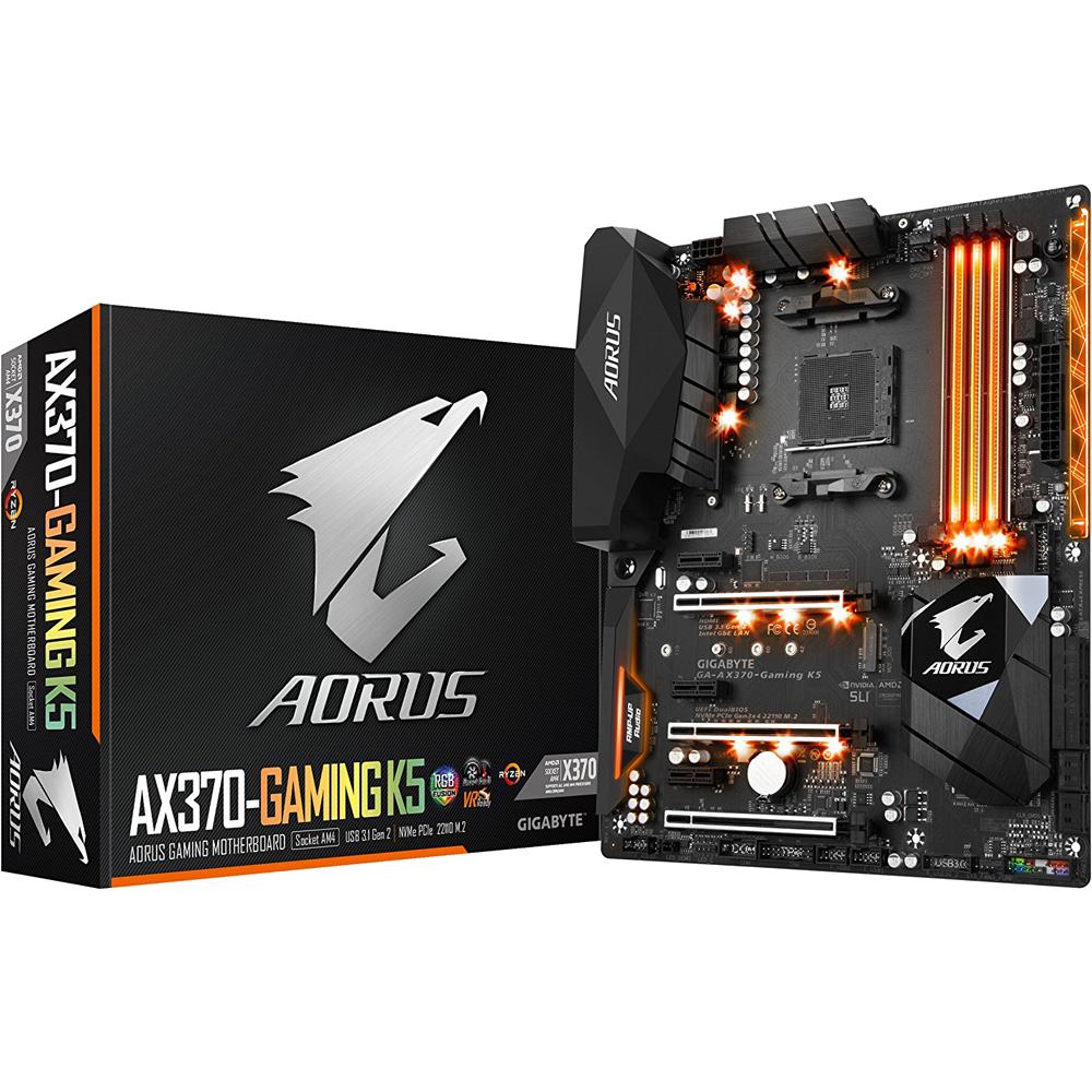GIGABYTE AORUS GA-AX370-Gaming K5 AMD Motherboard