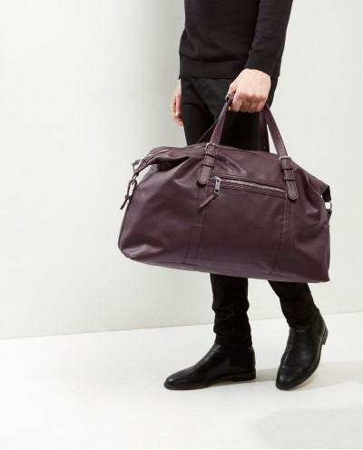 Leather Look Holdall
