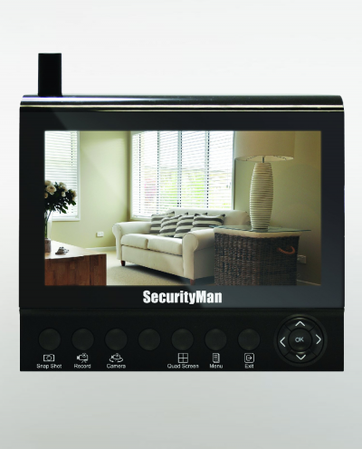 Securityman Channel Wireless Security System