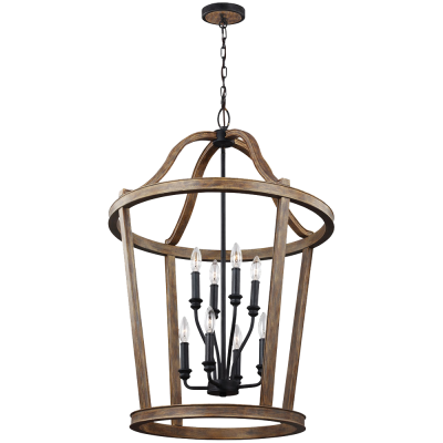 Lorenz 8 Light Chandelier...