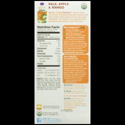 Happy Tot Organic Toddler Food Plus Kale Apple & Mango