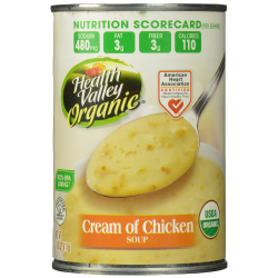 Health Valley Organic Soup Cream of Chicken