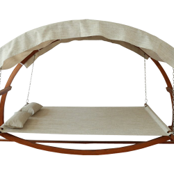 Swing Bed with Canopy