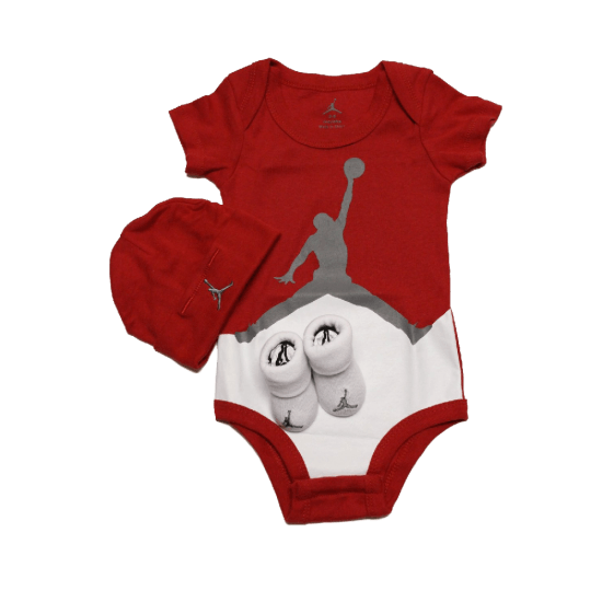 Air-Jordan-Baby-infant-3Pcs-sets-bodysuit-layette-oneies