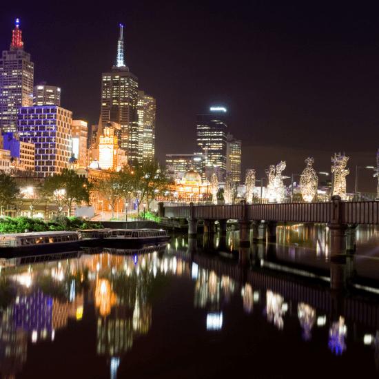 Melbourne-City,-Australia