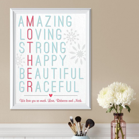 Amazing Mother Framed Print