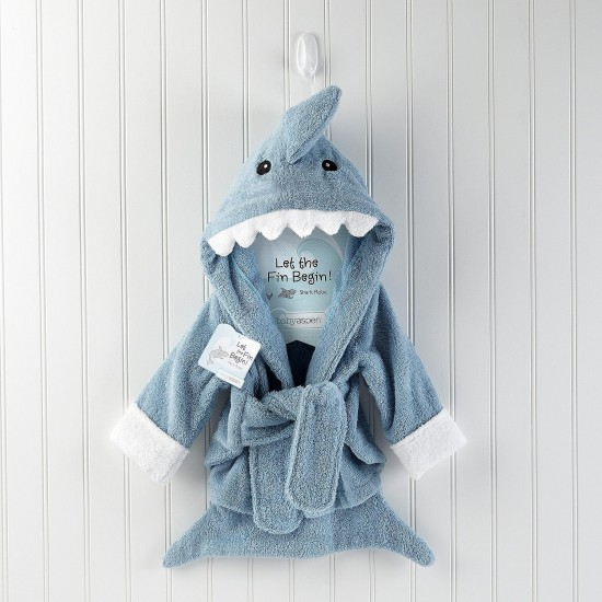 Fun Fin Baby Bath Robe
