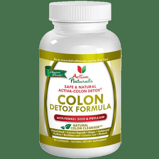 Best Colon Detox Formula - Advanced Colon Detox Supplement