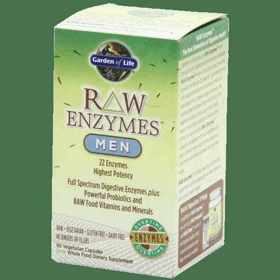 Garden of Life RAW Enzymes(TM) Men 90 Capsules